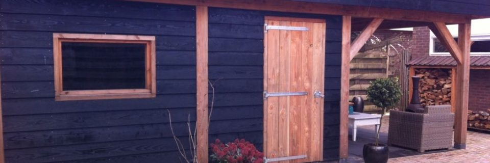 Tuinhuis met sauna